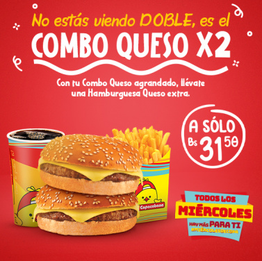 Combo Queso X2